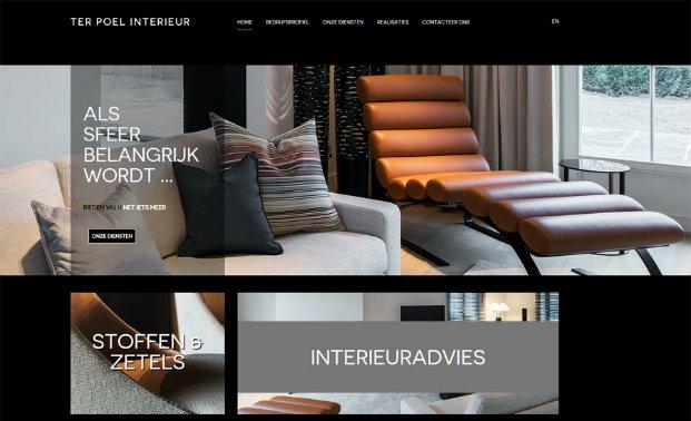 nieuwe responsive website voor ter poel interieur webdesign responsive
