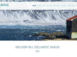 Website voor Icelandic Gadus